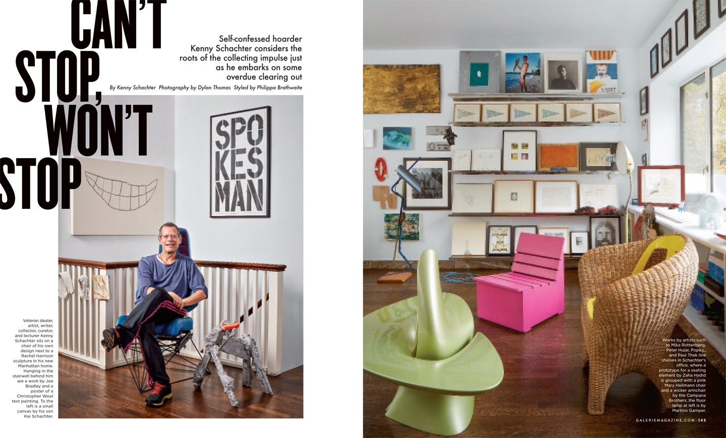 Galerie Mag Kenny Schachter Feature